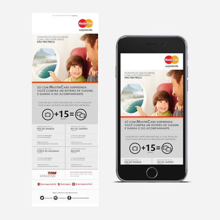 Clientes   MasterCard   TAM Viagens