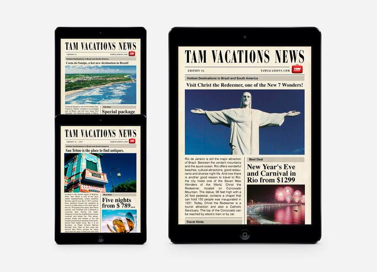 Cliente | TAM Vacations | USA