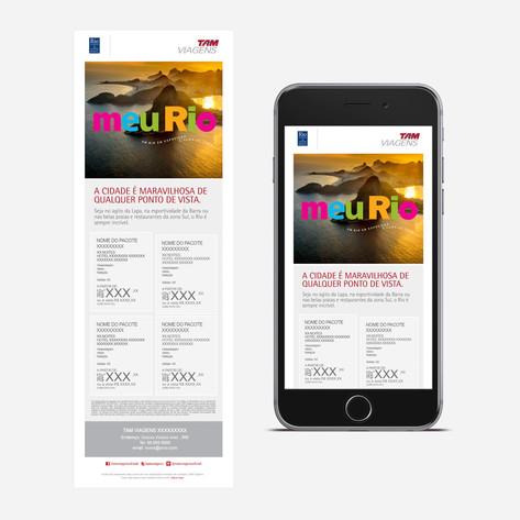 Cliente | Tam Viagens | Rio Convention & Visitors Bureau