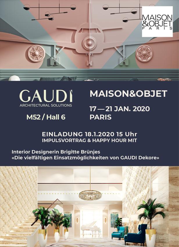 Maison & Objet Paris 2020 - Impulsvortrag Brigitte Brünjes