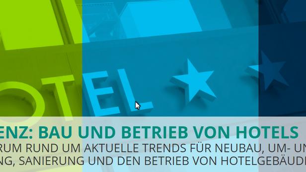 """Bau und Betrieb von Hotels Begleitausstelung """"Hotel der Zukunft - Digital, Emotional, Erlebensw"""