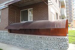 Металлический навес