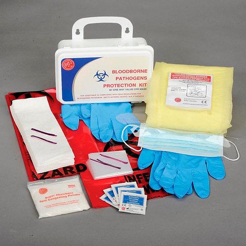 Bloodborne Pathogens Cleanup Kit