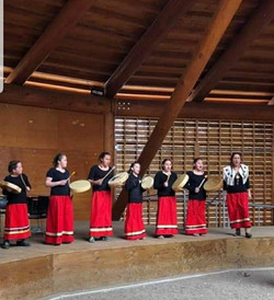 Leona Smith and the Traditional Muskwa Dancers