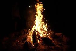 Ceremonial Festival Fire