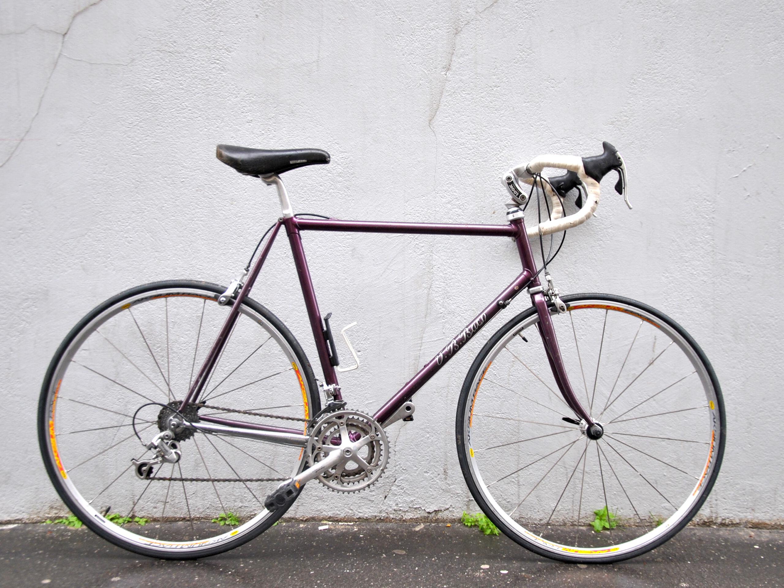 Vélo de course artisanal BACO