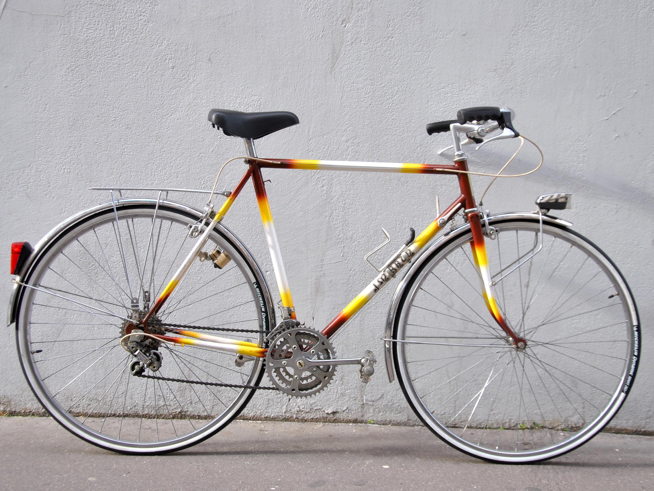 Vélo de ville homme artisanal