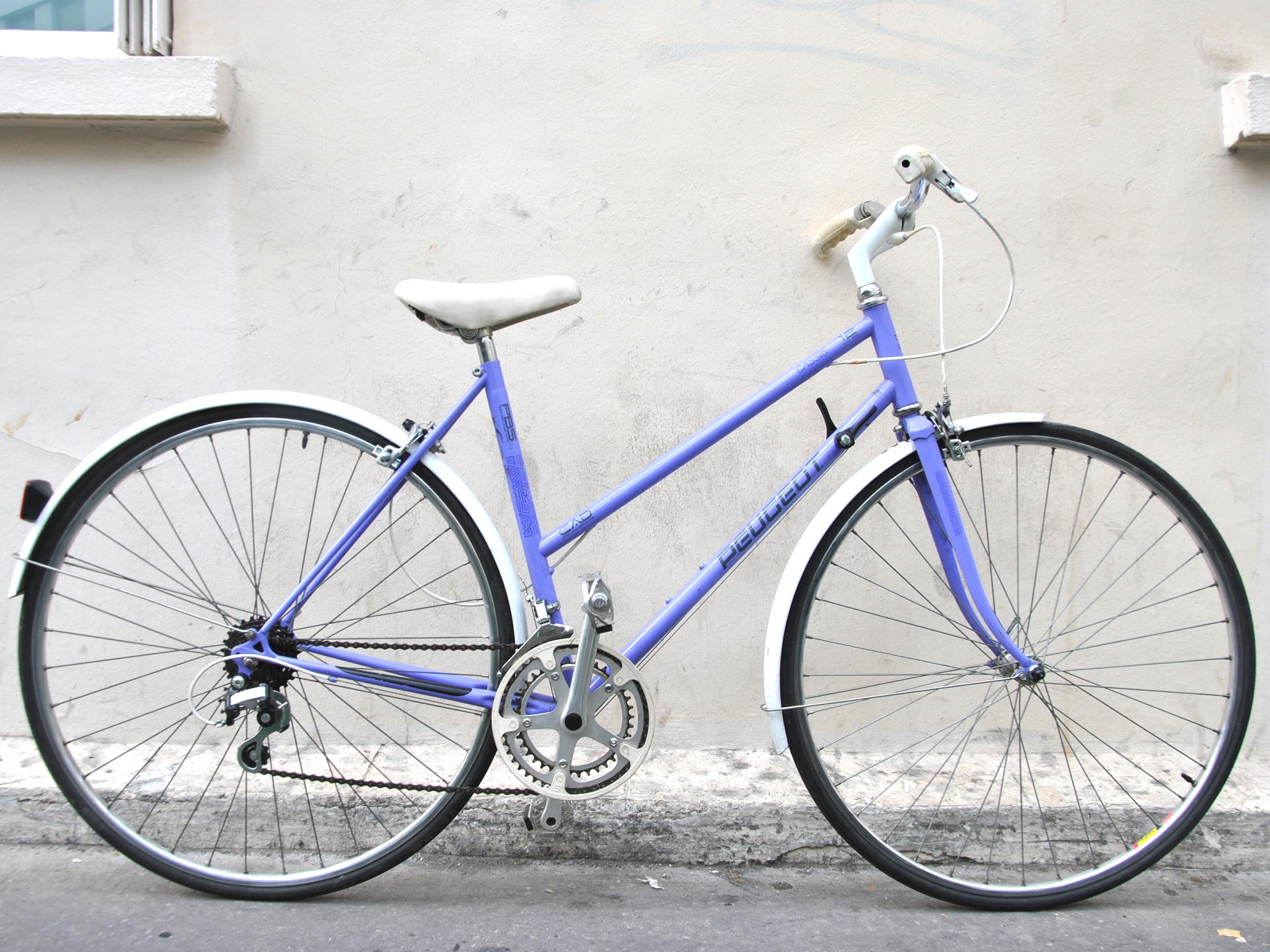 Acueil | Paris | 18 Vélo-vintage