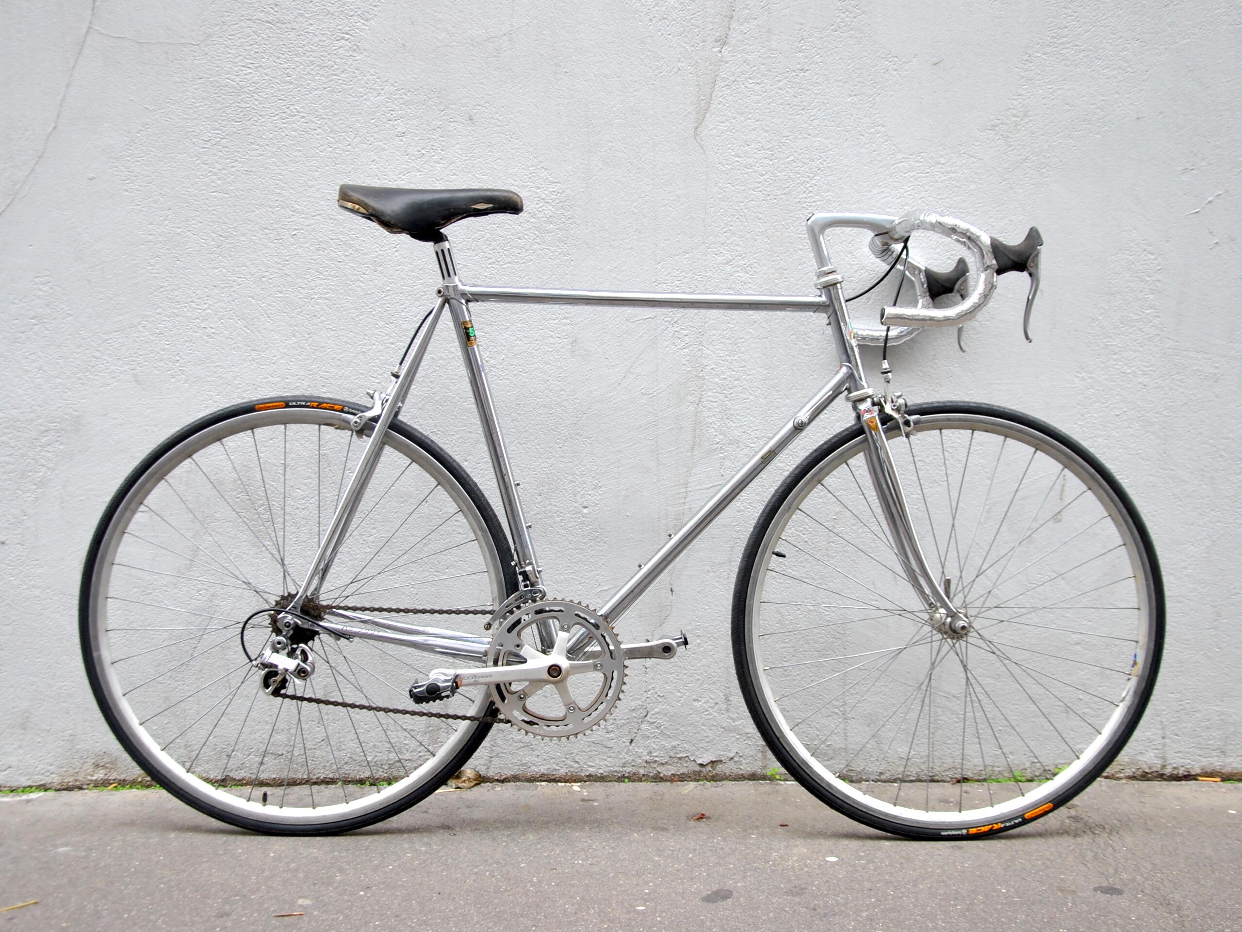Vélo de course CBT ITALIA chromé