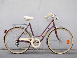 Vélo de ville pour femme col de cygne