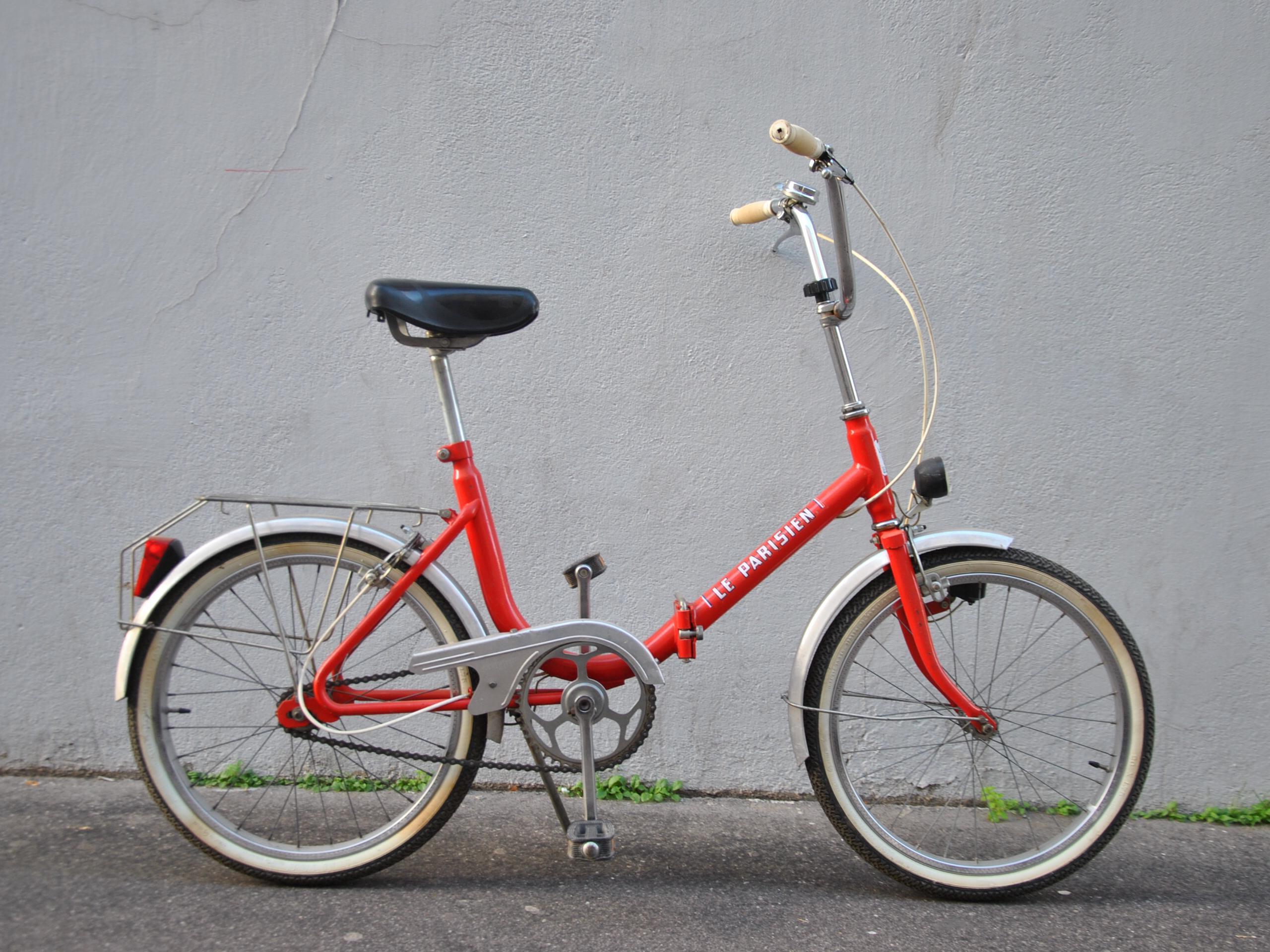 Mini vélo de ville pliant