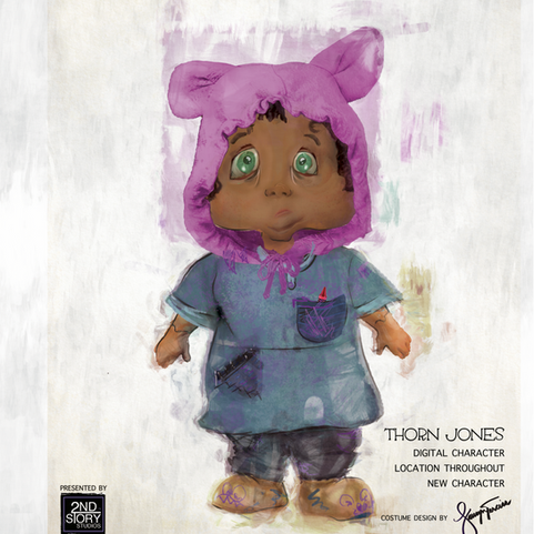 The Coraline Experience--Mixed Media and Narrative Design