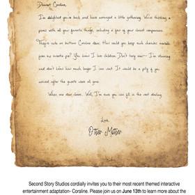 Pitch Invitation- Writing Sample