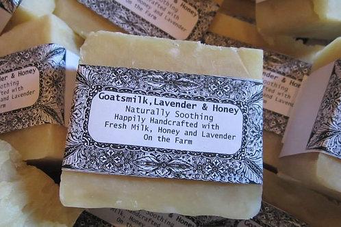 Goatsmilk, Lavender & Honey Soap