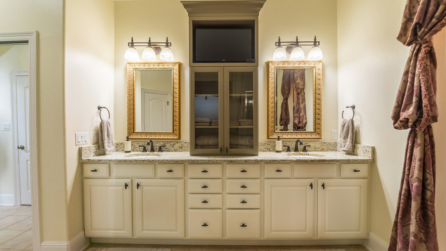New Master Bath Cabinets