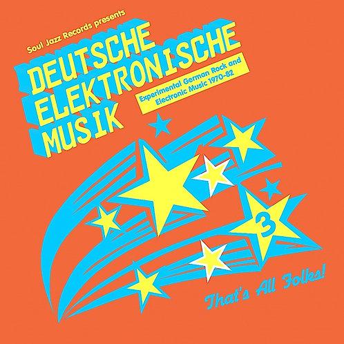 VARIOUS ARTISTS - DEUTSCHE ELEKTRONISCHE MUSIK 3