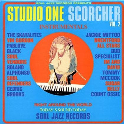 VARIOUS ARTISTS - STUDIO ONE: SCORCHER Instrumentals Vol. 2