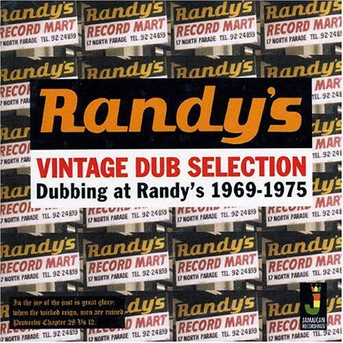 VARIOUS ARTISTS - RANDY'S VINTAGE DUB SELECTION 1969-75