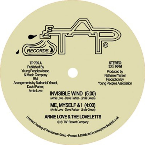 ARNIE LOVE & THE LOVELTTES - INVISIBLE WIND (RSD21)