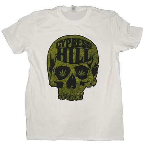 CYPRESS HILL - SKULL PRINTED T-SHIRT