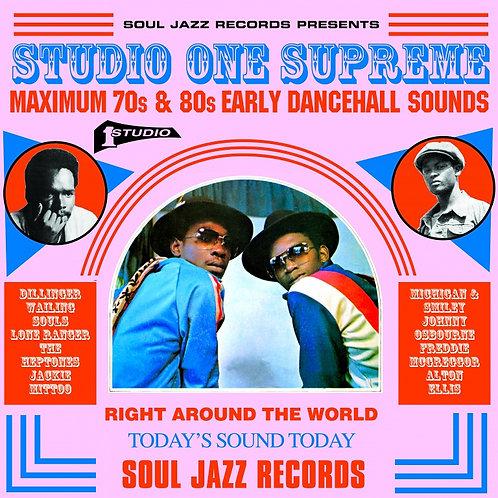 VARIOUS ARTISTS - STUDIO ONE: SUPREME - Maximum 70s & 80s Dancehall Sounds