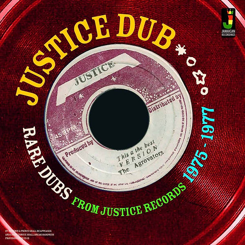 VARIOUS ARTISTS - JUSTICE DUBS (Rare Dubs from Justice Records 1975-77)
