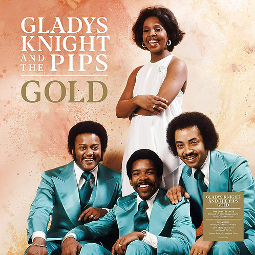 GLADYS KNIGHT & THE PIPS - GOLD LP