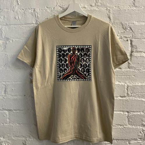 A TRIBE CALLED QUEST - MIDNIGHT MARAUDERS PRINTED T-SHIRT