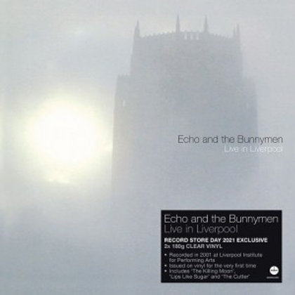 ECHO & THE BUNNYMEN - LIVE IN LIVERPOOL (RSD21)