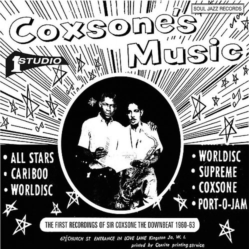 VARIOUS ARTISTS - SIR COXSONE THE DOWNBEAT: The First Recordings 1960-62