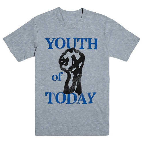 YOUTH OF TODAY - STENCIL PRINTED T-SHIRT