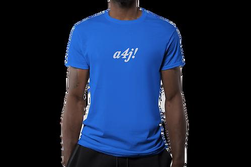 A4J Crew Neck Short Sleeve T-Shirt