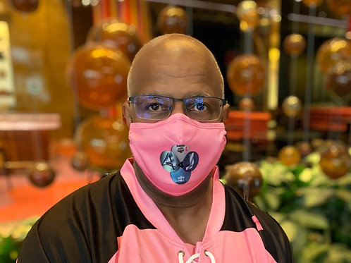 A4J  Breast Cancer Awareness Mask (Customized)