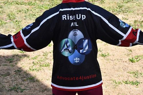 ATL/RISE UP HOCKEY JERSEY - Black Base