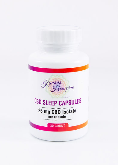 CBD Sleep Capsules- 30 count bottle