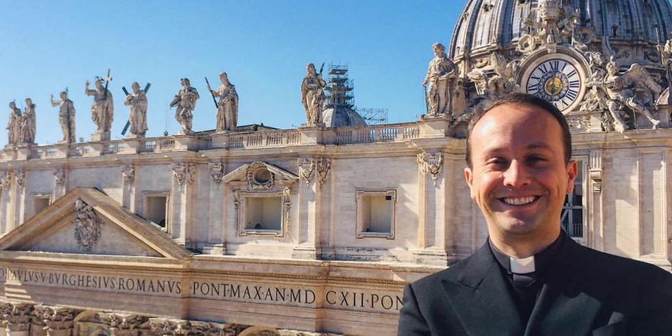 Br. Joaquin Saiz Ordination and Rome Pilgrimage