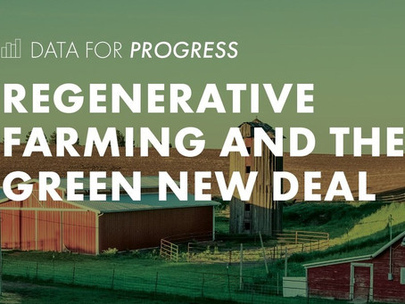 A Green New Deal for Family Farms & Rural Communities