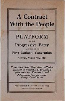 The New Progressive Political Agenda