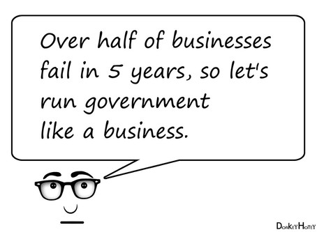 Government is Not a Business