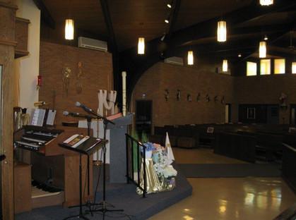 Church Organ/Altar