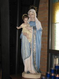 Holy Mary & Baby Jesus