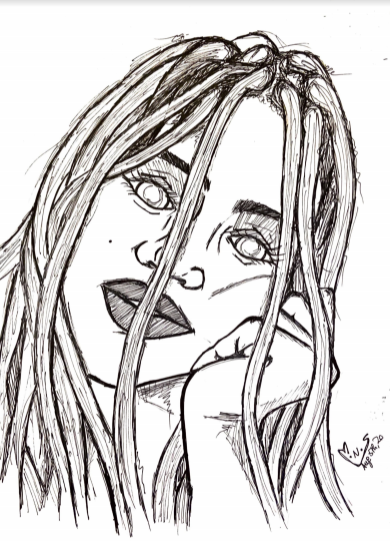 """Locked"" by Serena Musungu"