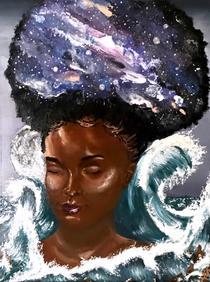 """Eclipsing at Nighttide"" by Miquéla Thornton"