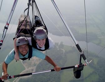 Wine Country Hang Glider thrills