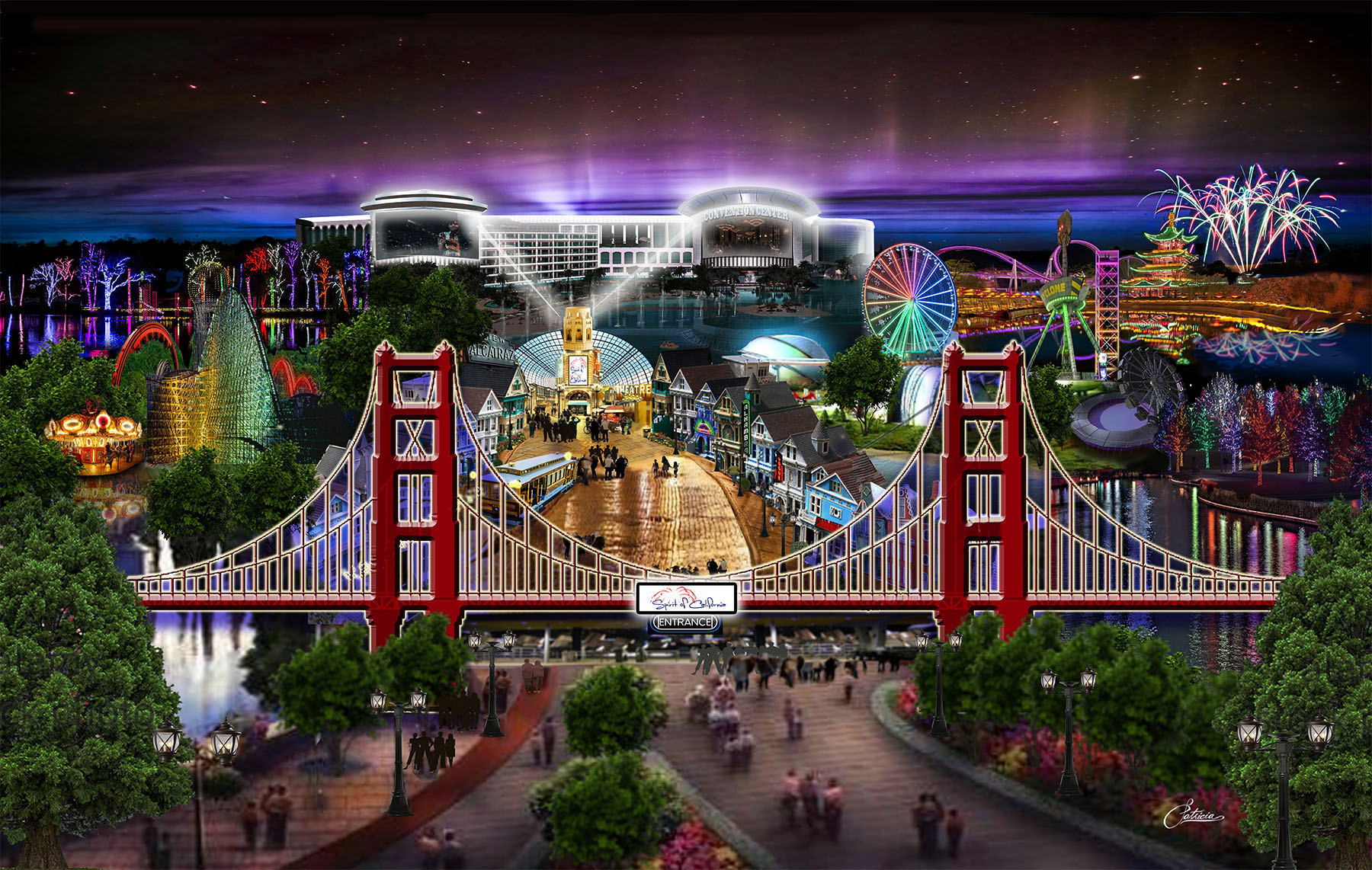 THEME PARK ENTRY night view FINAL 18x12 (3) 091817