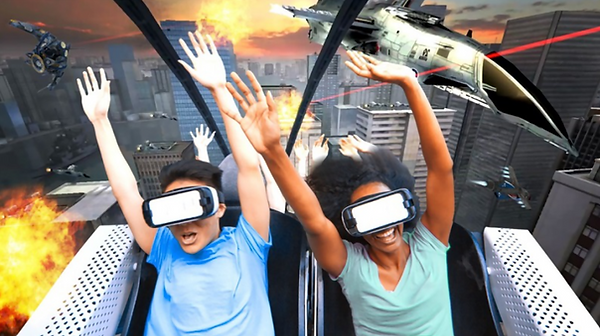 Spirit of California AEROSPACE VR COASTER