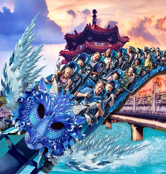 Spirit of California CHINESE DRAGON COASTER