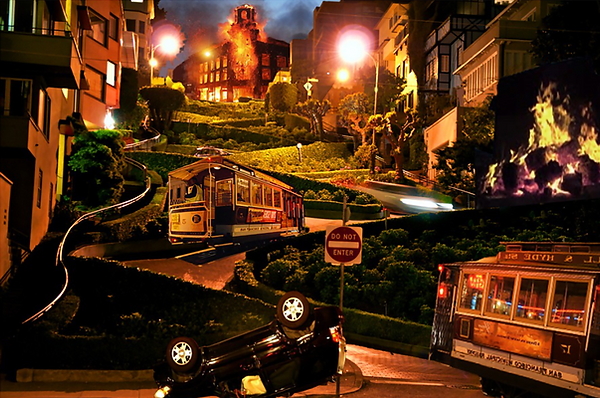 Spirit of California SAN FRANCISCO CABLE CAR Ride