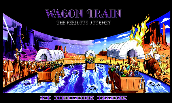 Spirit of California WAGON TRAIN (The Perilous Journey) Ride