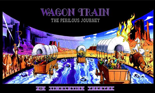Spirit of California WAGON TRAIN (The Perilous Journey) Ride